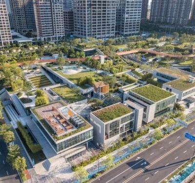 Liuxiandong-Plot A4+B2 of Vanke Design Community / FCHA