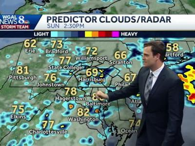 Showers and storms possible this holiday weekend