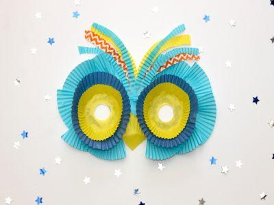 Kids Can Make This Owl Mask With Stuff You Already Have
