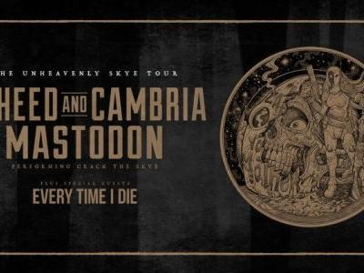 Mastodon and Coheed and Cambria announce co-headlining 2019 North American summer tour