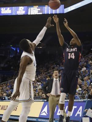 Belmont rallies to beat UCLA 74-72