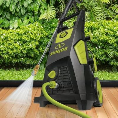 Wash away grime with up to 40% off Sun Joe pressure washers and accessories