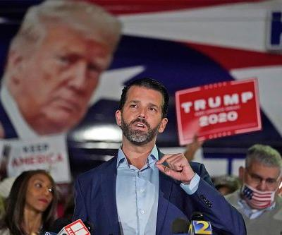Donald Trump Jr. tests positive for COVID-19