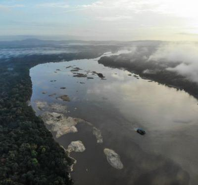 Shooting a World First Expedition on the Essequibo River in Guyana