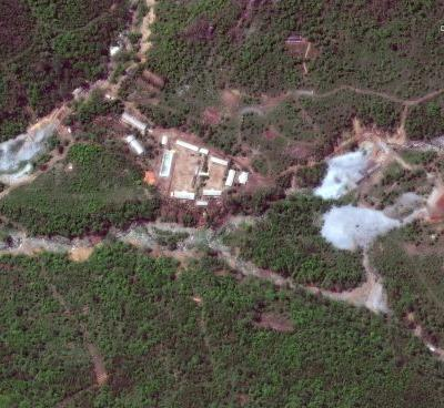 See the secretive nuclear facility North Korea destroyed just hours before Trump canceled his upcoming Kim Jong Un meeting