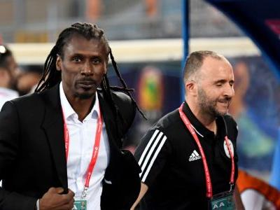 AFCON: Algeria favourites vs. Senegal as old friends Belmadi and Cisse reunite on the touchline