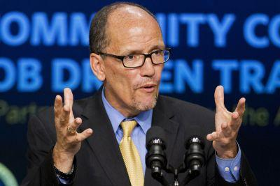 Ex-Labor Secretary Tom Perez elected DNC chairman