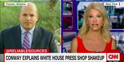 Kellyanne Conway says the Trump-Russia investigation is 'not a big story' in contentious, meandering CNN interview