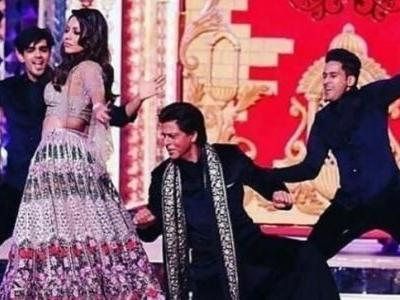 Isha Ambani sangeet unseen videos: Gauri's killer moves and Aamir following Shah Rukh's dance steps