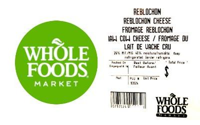 Whole Foods recalls raw milk cheese in Canada for E. coli risk