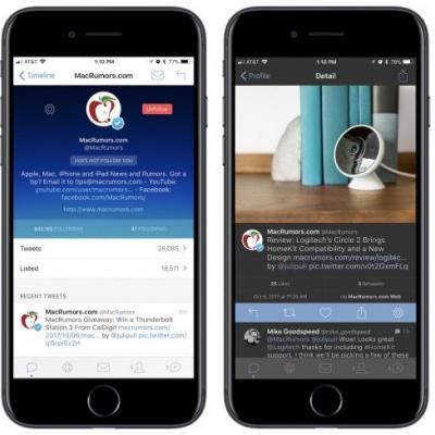 Popular iOS Twitter Client Tweetbot 4 Gets First Discount of 2017, Dropping From $10 to $5