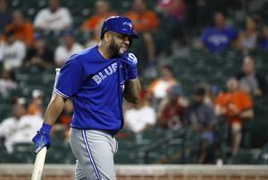 Morales' home run streak ends at 7 as O's beat Blue Jays 7-0