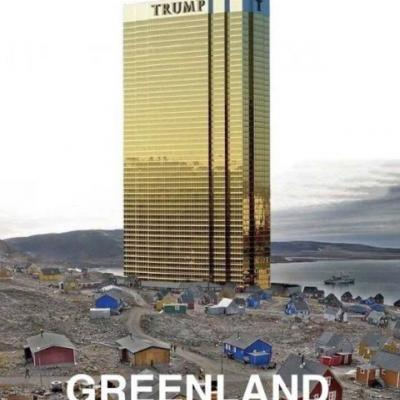 Trump shared a meme promising he wouldn't put a Trump Tower on Greenland