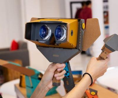 Nintendo's Labo VR kit will work with Breath of the Wild and Super Mario Odyssey