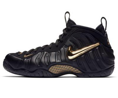 """Nike's Air Foamposite Pro Gets Dressed in """"Black/Metallic Gold"""" for Fall"""
