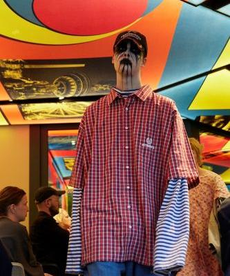 Vetements took over a McDonald's for its latest show