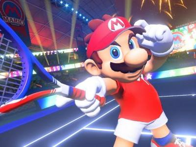 Mario Tennis Aces will be getting an online tournament demo