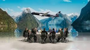 Air New Zealand & Tourism New Zealand together started filming a safety video at Aotearoa