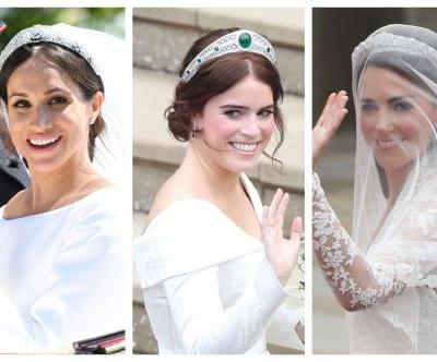 Royal Showdown! See Princess Eugenie's Wedding Dress Vs. Kate Middleton And Meghan Markle's