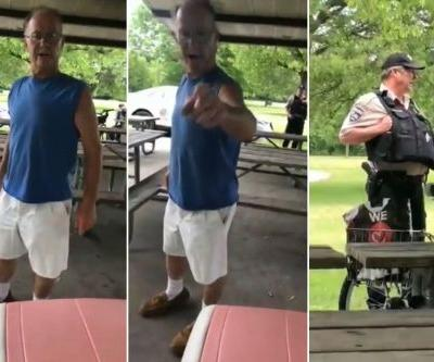 Cop quits over video of him ignoring woman harassed for Puerto Rico shirt