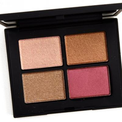 NARS Singapore Eyeshadow Quad Review & Swatches