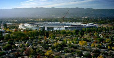 Apple's spaceship campus will open in April as Apple Park