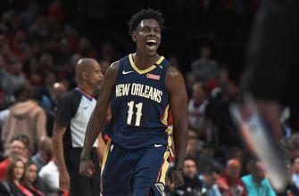 Holiday has 33 and Pelicans beat the Blazers to go up 2-0