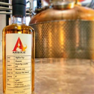 Arbikie reveals the first rye whisky from Scotland in over 100 years