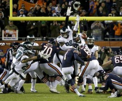 Bears' potentially game-winning field goal kick ruled block, NFL says