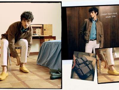 Alberto Takes to Milan for Tod's Spring '20 Campaign