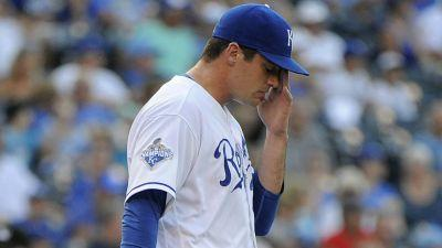 Royals pitcher Brian Flynn out eight weeks after falling through barn roof