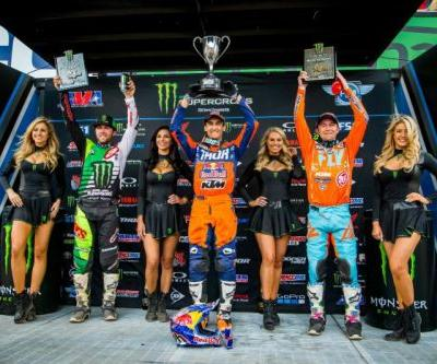 Marvin Musquin Scores Fourth Monster Energy Supercross Win in Salt Lake City