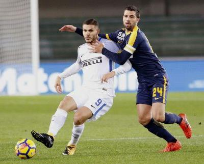 Inter stays unbeaten with 2-1 win at Verona in Serie A
