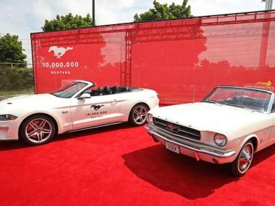 The 10,000,000th Ford Mustang Has Been Produced