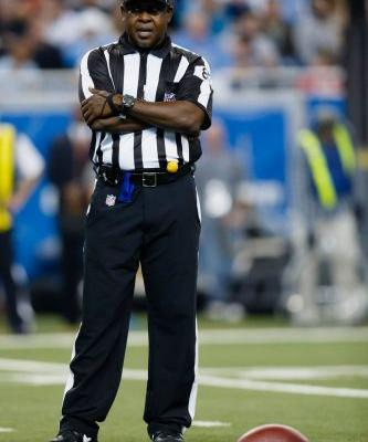 NFL official on leave after being accused of calling player vulgar name