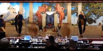 Up Close: Maxfield Parrish's King Cole Bar Mural