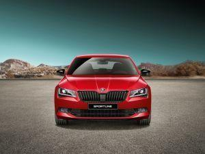 Skoda Superb Sportline Launched Does Not Get RS Engine