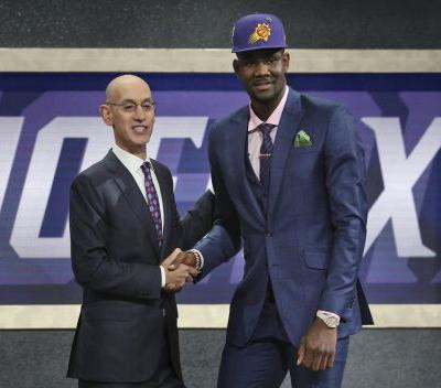 Suns take DeAndre Ayton at No. 1 in NBA draft