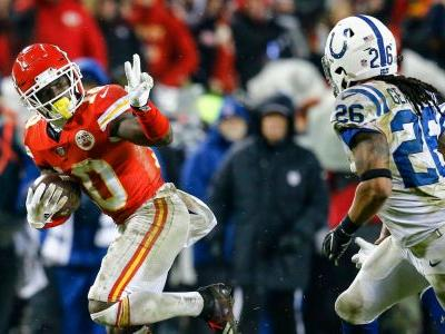 Anything Colts could do, Chiefs did better in divisional playoff game