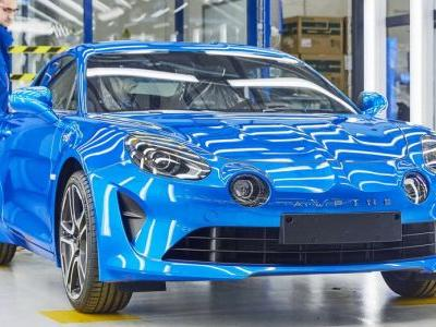 Renault Celebrates Production Launch Of New Alpine A110 In Dieppe