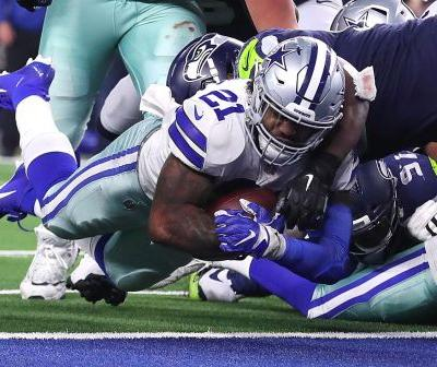 Ezekiel Elliott comes up big as Cowboys squeak past Seahawks