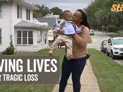 Family's tragic loss transforms into help for kids