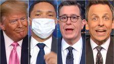 Late-Night Hosts Cough All Over Trump's 'Ludicrous' Coronavirus Attack Plan
