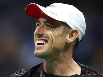 Moments after an unseeded Australian player shocked the tennis world by upsetting Roger Federer, he seemed more concerned about his fantasy football team