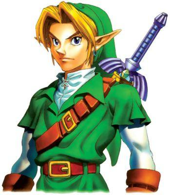 Link's design in Ocarina of Time is based off a famous Hollywood actor