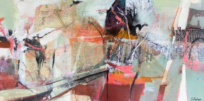 """Contemporary Abstract Art Painting """"Passage to Awareness"""" by Intuitive Artist Joan Fullerton"""