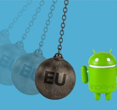 Here are the 3 reasons Google was slapped with an enormous $5 billion fine by the EU