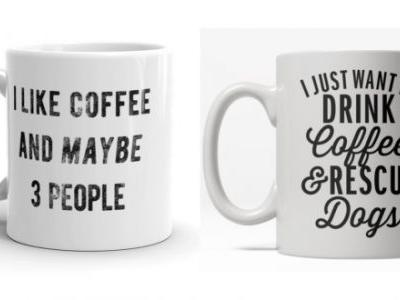 These Coffee Mugs Say What We're Thinking, So We Don't Have To