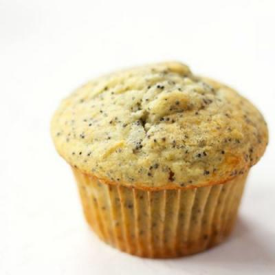 Sour Cream Lemon Poppy Seed Muffins