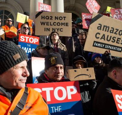 Thousands of Amazon workers across Europe and the US are striking and protesting on Prime Day